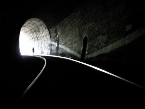 Dark Tunnel Bright Light