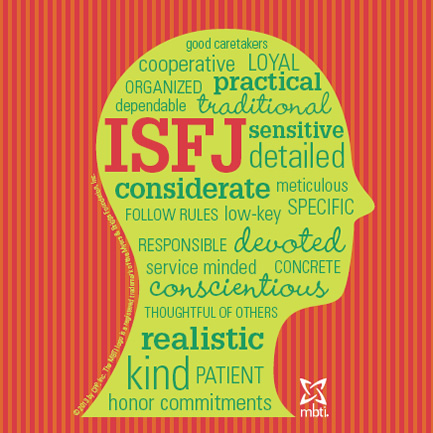 Myers Briggs & Marriage: ISFJ & INTJ (1/2)