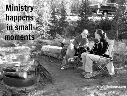 Ministry Happens in Small Moments