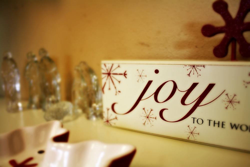 A New Year: Choosing Joy (1/4)