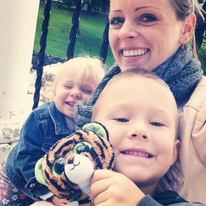 Joshua, Rebecca, and Tiny Tiger